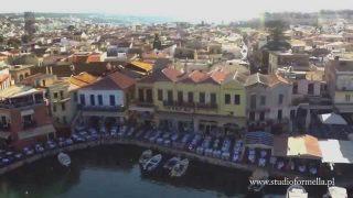 Grecja – Kreta z lotu ptaka, Rethymno, Chania, Elafonisi, Granvouza