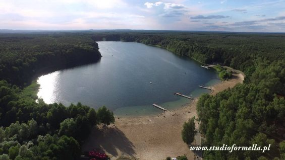 Jezioro Płotki koło Piły